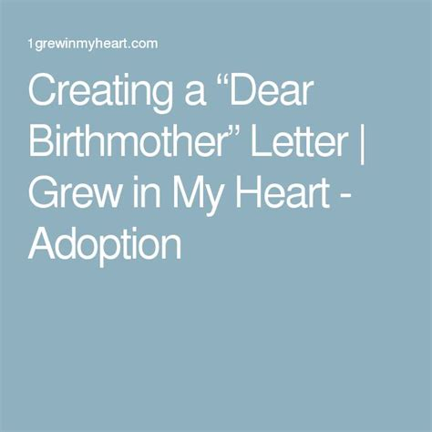 thank you letter to my adoptive parents 7 best adoption letter to birth images on