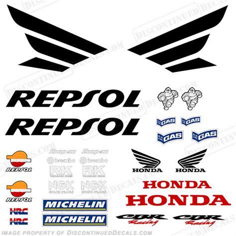 Sticker Honda Repsol by Honda Decals