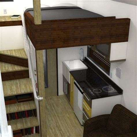 Tiny House Layouts how to avoid having a ladder in your tiny house