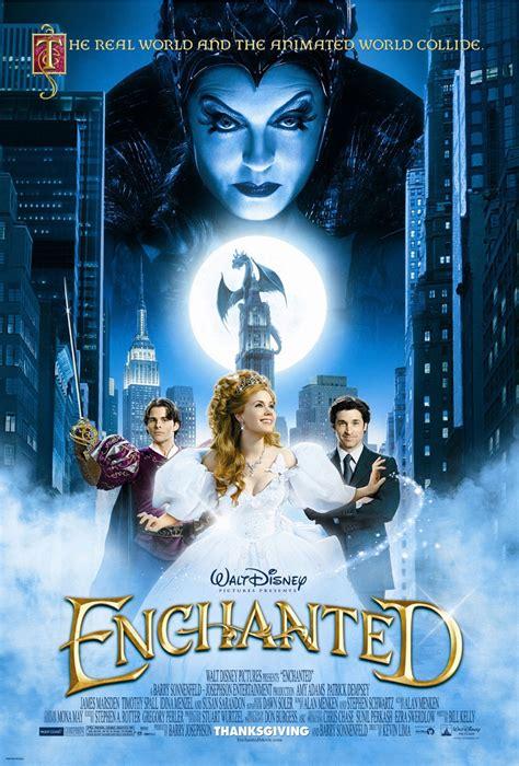 film disney dvd meyemind com disney s enchanted movie poster