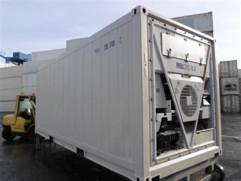 d馭inition chambre froide conteneur container contenair maritime et stockage 20