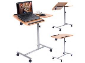 adjustable swivel laptop desk goplus adjustable laptop notebook desk table stand holder