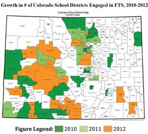 school district map colorado colorado school districts map