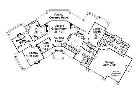 lodge style floor plans lodge style house plans petaluma 31 011 associated designs