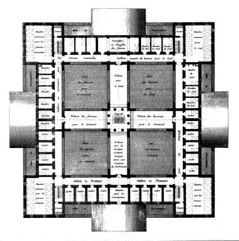 Prison Floor Plan prison in aix en provence