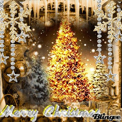 blingee graphics christmas   challange silver  gold christmas picture