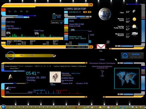 star trek themes for windows 10 what is a rainmeter skin amerisphere software technologies