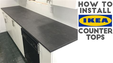 how to install a bar top how to install laminate ikea countertops quick and