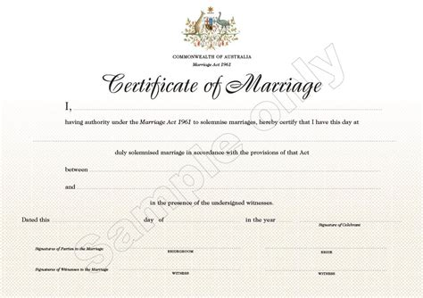 marriage license template marriage certificate template