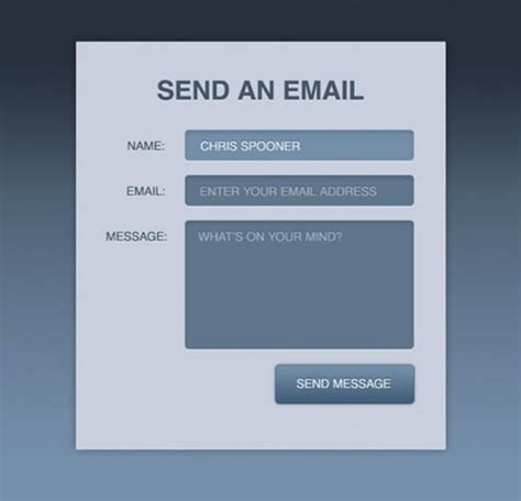 design form in html5 12 awesome free html5 css3 php contact form elements