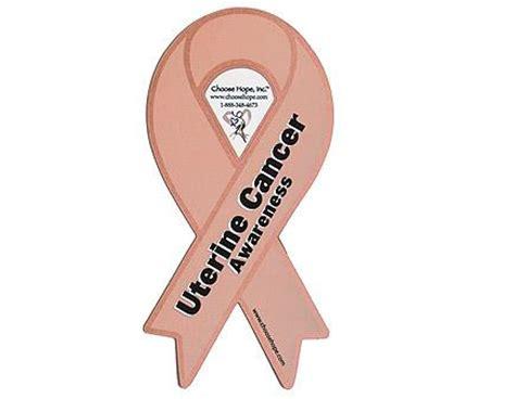 uterine cancer color uterus cancer symbol
