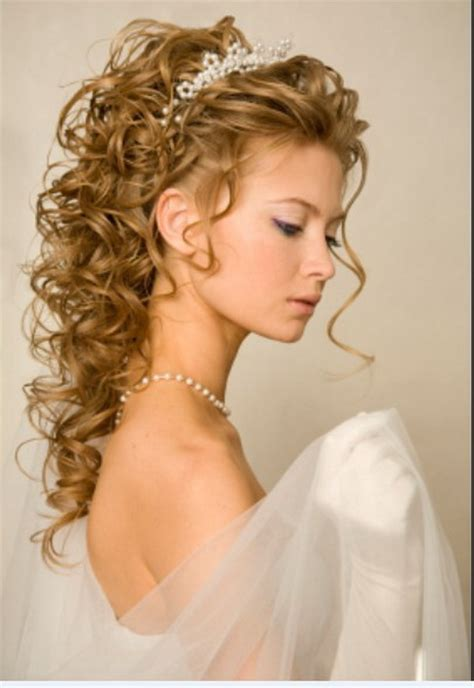 Wedding Hairstyles With Tiara bridal hairstyle with tiara