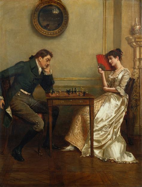 the play of george the athenaeum a game of chess george goodwin kilburne