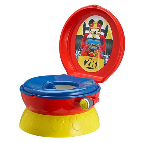 toilet seat cover kruitvat mickey mouse roadster racers 3 in 1 potty system disney baby