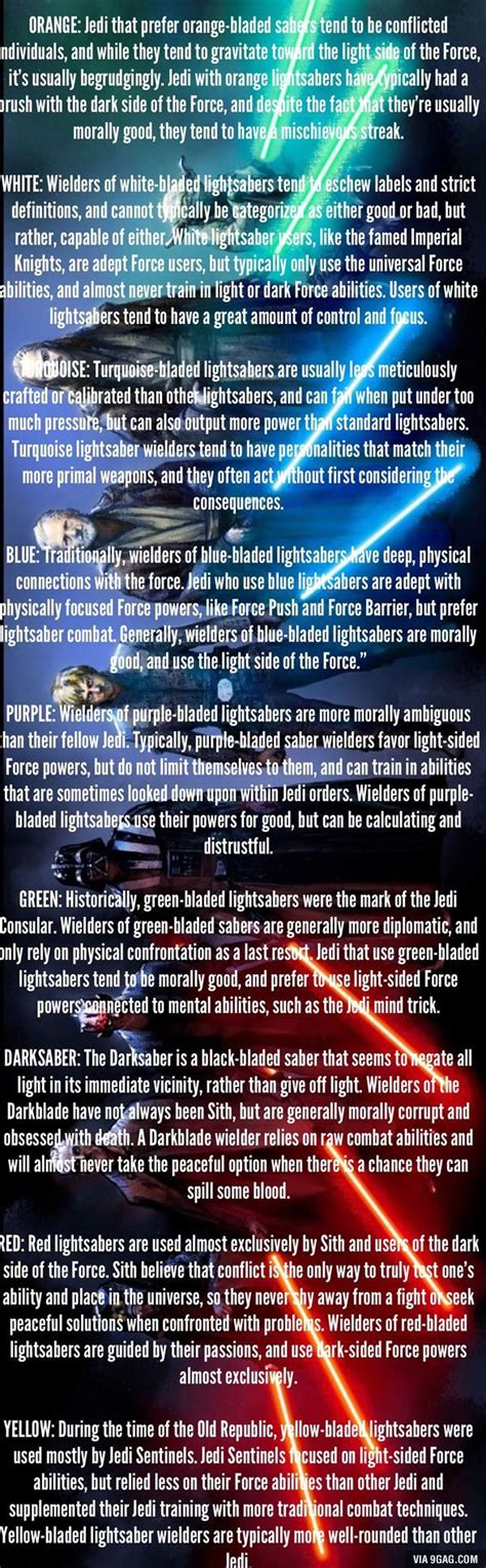 all lightsaber colors and meanings http 9gag amr3rda ref mobile amazing book