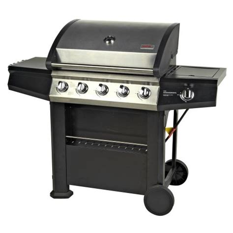 backyard grill 5 burner gas grill reviews outdoor gourmet 5 burner gas grill academy