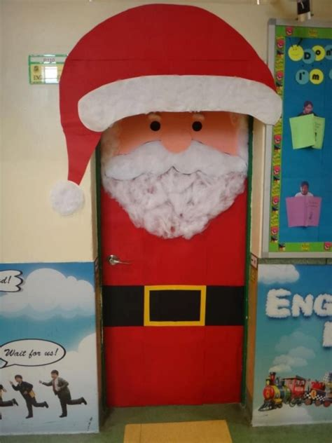 Classroom door decoration ideas for christmaschristmas door