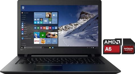 Laptop Lenovo Amd 9 lenovo 110 17acl notebook amd 43 9 cm 17 3 zoll 1000 gb speicher 8192 mb ddr3l