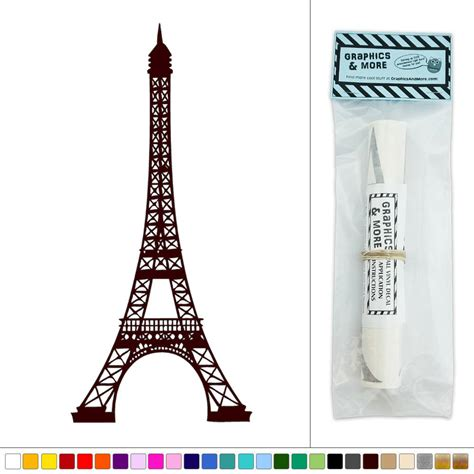 wall stickers eiffel tower eiffel tower vinyl sticker decal wall d 233 cor ebay