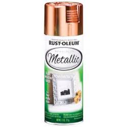 Shop rust oleum 11 oz metallic copper spray paint at lowes com