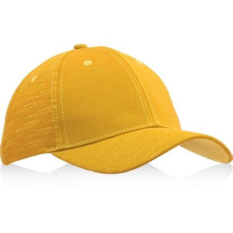 myrtle and nicholson yellow embossed baseball cap
