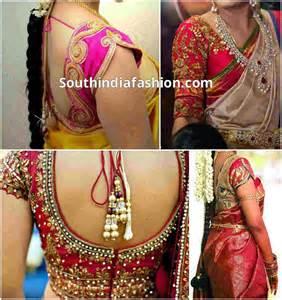 Blouse Designs for Wedding Sarees   South India Fashion