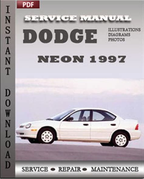 car repair manuals online free 1997 dodge neon head up display dodge neon 1997 workshop repair manual pdf servicerepairmanualdownload com