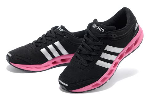 colorful black pink women adidas running shoes cc