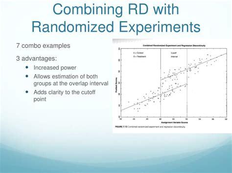 regression discontinuity design natural experiment ppt regression discontinuity design powerpoint