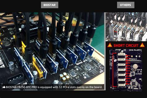 Biostar Tb250 Btc Pro Socket 1151 12 Socket tb250 btc pro ver v6 3 intel socket motherboard gaming biostar