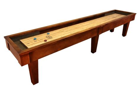 12 foot sloan maple shuffleboard table mcclure tables