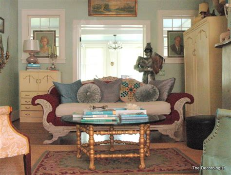downton living room ode to downton table transformation the decorologist