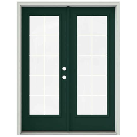 inswing patio door andersen 60 in x 80 in 400 series frenchwood white