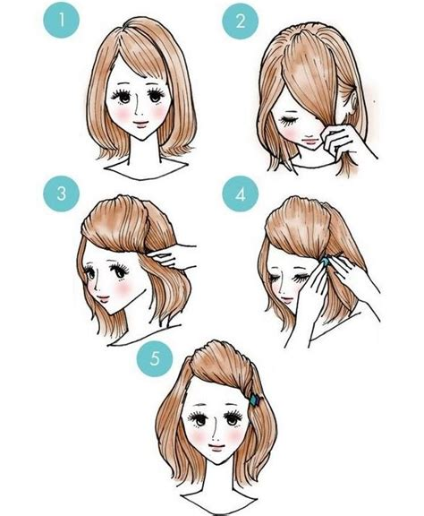 quick and easy korean hairstyles 330 best images about hair and hair accessories on