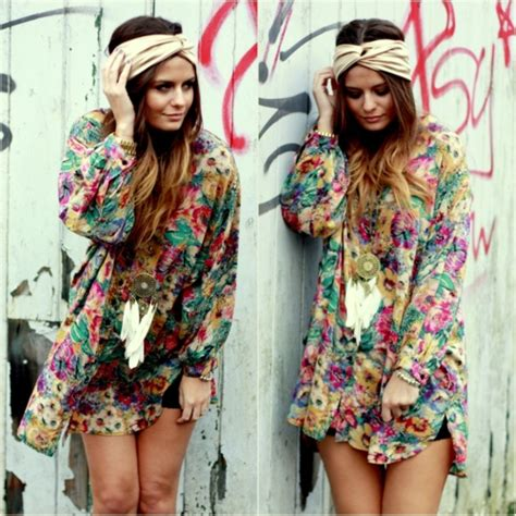 festival look inspiration boho ethno hippie so dreamy