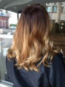 medium length hair with ombre highlights balayage ombr 233 on shoulder length hair ombr 233 by briza