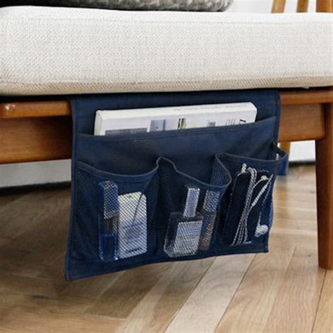 hanging sofa bed storage bag for tv remote control creative design desk