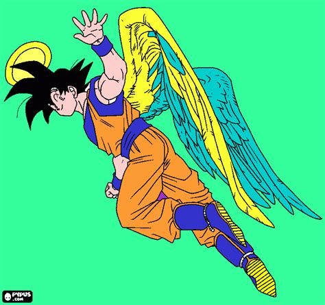 imagenes de goku con alas frases groseras y chistosas