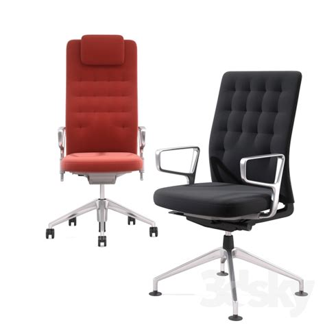 3d Models Office Furniture Office Chair Vitra Id Trim Vitra Office Desk