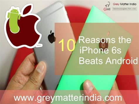 Will Android Beat Ios by 10 Reasons Ios Beats Android