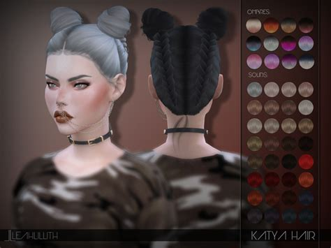 tsr braids sims 4 katya hair by leahlillith at tsr 187 sims 4 updates