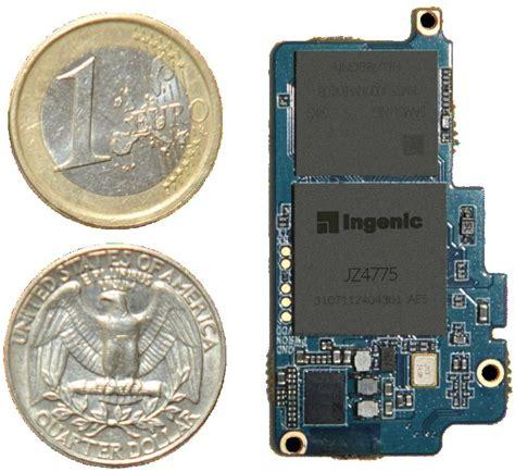 A Pickpockets Wearable Laptop From Intel mips based newton module takes on intel s edison in wearables