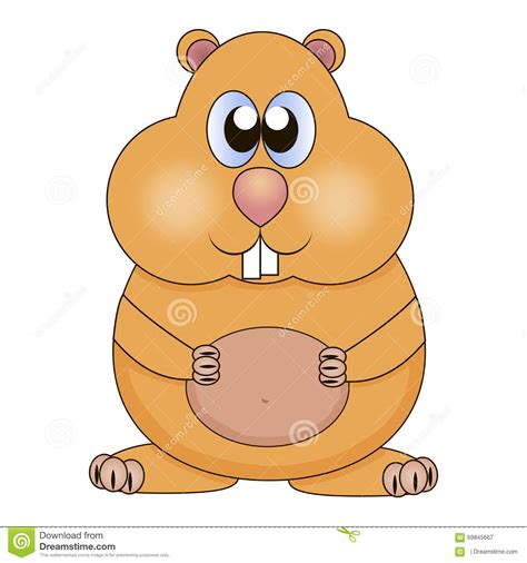 hamster stock illustration image 69845667