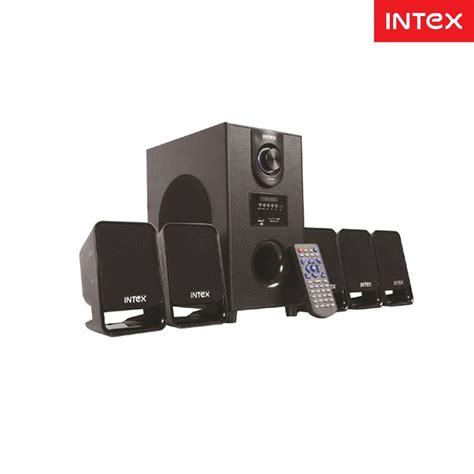 1 Unit Home Theater Multimedia intex it 500 suf 5 1 multimedia speakers