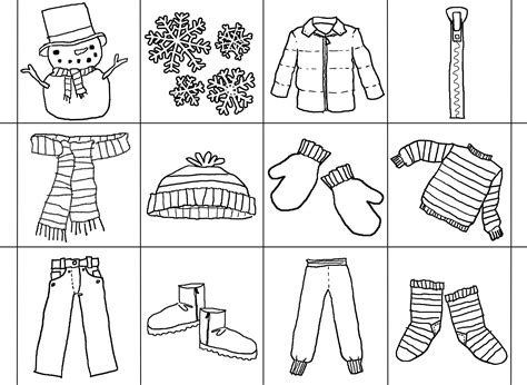 free coloring pages of clothing worksheet