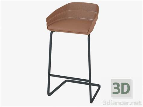 sedie 3d gratuito di modello 3d sedia bar moroso max 2013