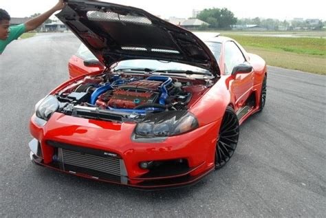 mitsubishi fto wide body 3000gt wide body kit images
