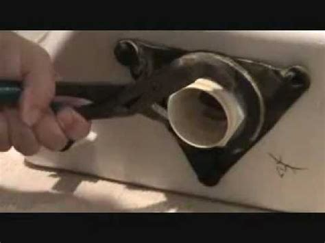 Kitchen Faucet Removal Tool the toilet from hell removing the spud nut youtube