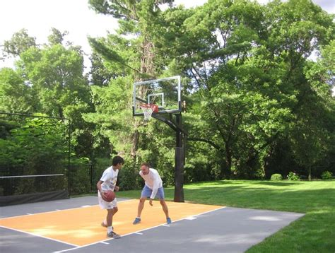 basketball court in the backyard 25 best ideas about backyard basketball court on