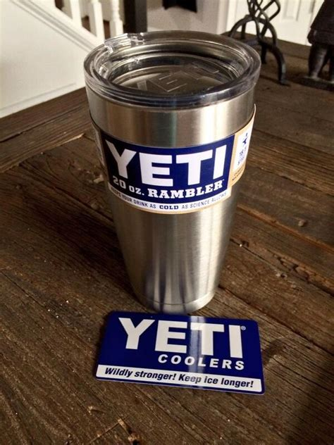amazon yeti cup yeti rambler 20oz tumbler and rei expresso cup second